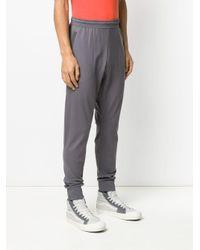 Pantaloni sportivi con stampa di Nike in Gray da Uomo