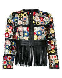 Caban Romantic Black Porto Fino Jacket
