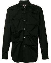 Comme des Garçons Black Folded Shirt for men