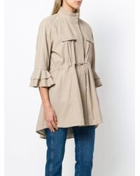 DROMe Natural Oversized Shirt Jacket