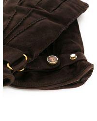 Lardini Brown Il Bergeni Gloves for men
