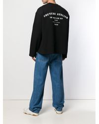 Ih Nom Uh Nit Sweatshirt mit Logo-Print in Black für Herren