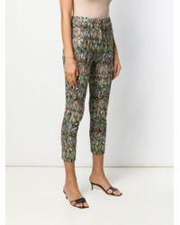 Pantalon crop imprimé Missoni en coloris Black