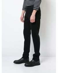 7 For All Mankind - Black Adrien Slim Fit Jeans for Men - Lyst