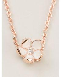 Shaun Leane - Pink Cherry Blossom Pendant Necklace - Lyst