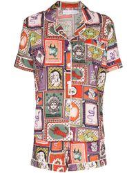 Desmond & Dempsey The Collector パジャマシャツ Multicolor