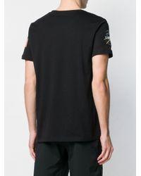 メンズ Alpha Industries Nasa Tシャツ Black