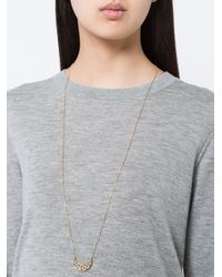 Noor Fares - Metallic Fly Me To The Moon Long Necklace - Lyst