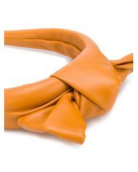 Ободок С Бантом RED Valentino, цвет: Brown