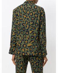 Zadig & Voltaire Green Tacha Leo Shirt