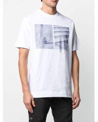 メンズ 1017 ALYX 9SM グラフィック Tシャツ White