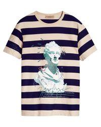 Burberry T-Shirt mit Print in White für Herren