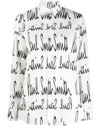 Camisa con logo Paul Smith de color White