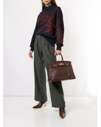 Sac à main Birkin 35 Hermès en coloris Red