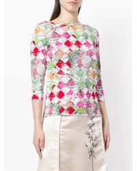 Ultrachic Pink Floral Sweater
