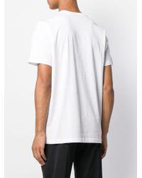 メンズ SSS World Corp リラックスフィット Tシャツ White