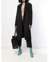 Manteau Carice à boutonnière croisée Acne en coloris Black