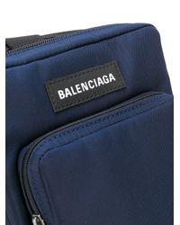 Сумка-мессенджер Explorer Balenciaga для него, цвет: Blue