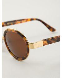 Retrosuperfuture Brown 'santa' Sunglasses