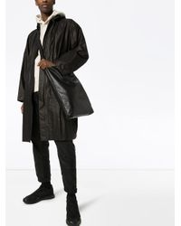 Y-3 Gray Grey Gore-tex Hooded Parka Coat for men