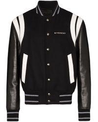 メンズ Givenchy ボンバージャケット Black