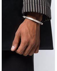 Annelise Michelson Alpha Bracelet in het Metallic voor heren