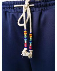 Pantaloni sportivi di MIRA MIKATI in Blue