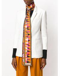 Emilio Pucci Women's Multicolor Silk Scarf