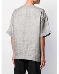 メンズ Henrik Vibskov Tanoii Tシャツ Black