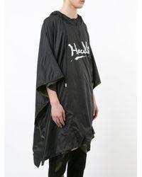 Haculla - Black Patchwork Cape for Men - Lyst
