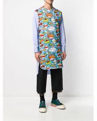メンズ Comme des Garçons Tシャツ Blue