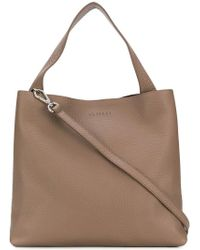 Orciani Brown Soft Tote