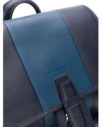 Dior 2010s フラップ バックパック Blue