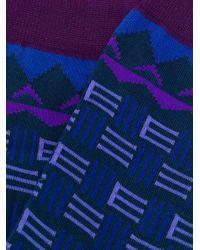 Носки С Логотипом Etro для него, цвет: Blue