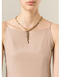 Antonio Bernardo Metallic 'wing' Necklace