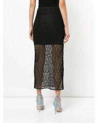 Manning Cartell Black Ropes & Cords Skirt