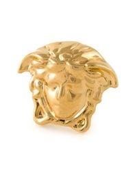 Versace Metallic Small Medusa Earrings