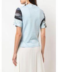 Camiseta estampada Chloé de color Blue