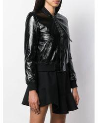 Veste bomber à effet verni MICHAEL Michael Kors en coloris Black