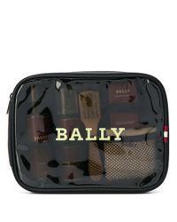 Bally Black Shoe Care Travel Kit for men
