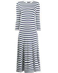 Polo Ralph Lauren ストライプ ニットドレス Blue