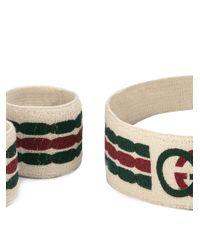 Gucci インターロッキングg ヘッドバンド&バングル Multicolor
