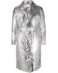 Abrigo con efecto fluorescente Ienki Ienki de color Gray