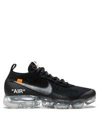 NIKE X OFF-WHITE Black Vapormax Fk Sneakers