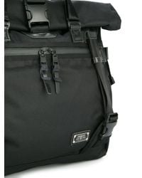 As2ov - Black Double Buckle Tote for Men - Lyst