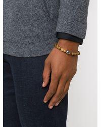 Tateossian Beaded Bracelet in het Brown voor heren