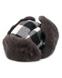 Woolrich Arctic チェックハット Gray