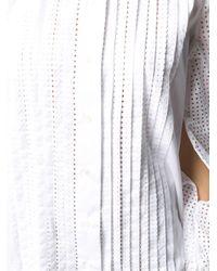 Платье Мини С Завязками И Перфорацией N°21, цвет: White