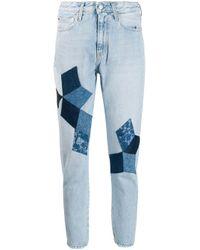 Jean slim classique Calvin Klein en coloris Blue