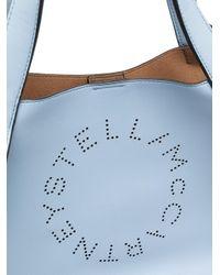 Stella McCartney ステラロゴ ハンドバッグ Blue